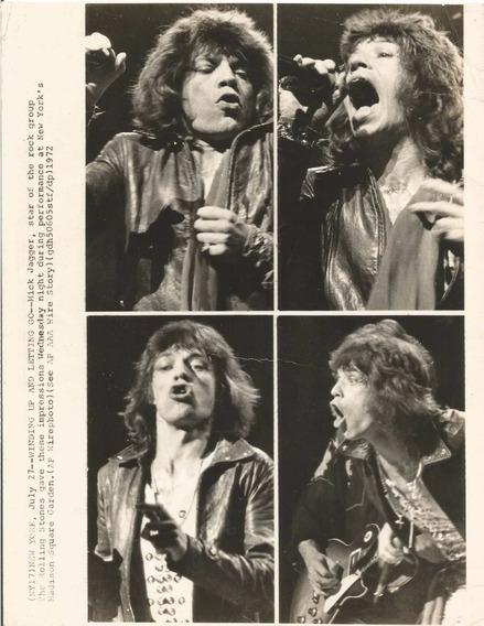 Mick Jagger Rolling Stones Foto # 1972