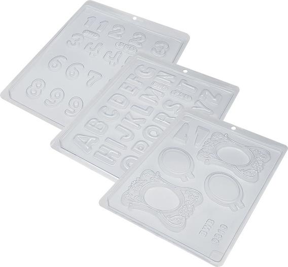 Pacote Acetato Bwb Forma Porta Retrato Médio Números
