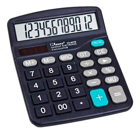 Calculadora Eletrônica Joinus Ds-837b 12 Dígitos Tela Grande