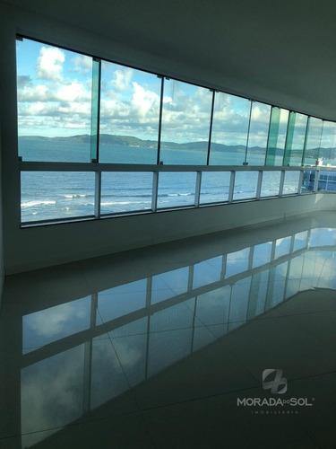 Imagem 1 de 15 de Apartamento 3 Suítes Frente Mar Em Itapema - 3748