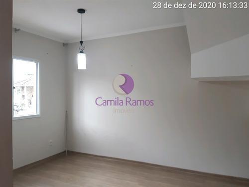 Sobrado Com 03 Dormitórios, Condomínio Vila Novo Horizonte - Suzano/sp - So00474 - 68976183