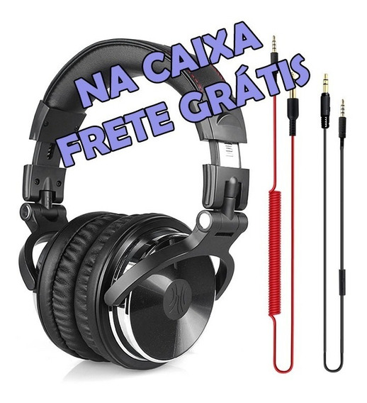 Headphone Profissional Estudio Dj Oneodio Pronta Entrega
