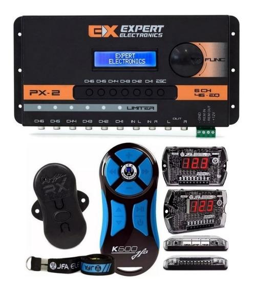 Processador Expert Px2 + Sequenciador Vs5hi + Controle K600