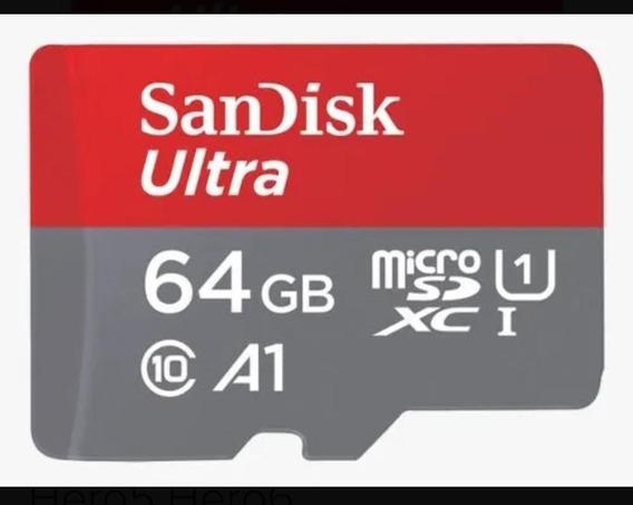 Cartao Sandisk Micro Sdxc 100mb/s 64gb Sd Gopro Hero5 Hero6