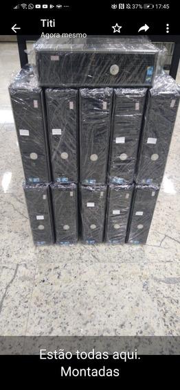 Lote Com 10 Cpus Dell 780 4gb Ram Hd 250g Testadas
