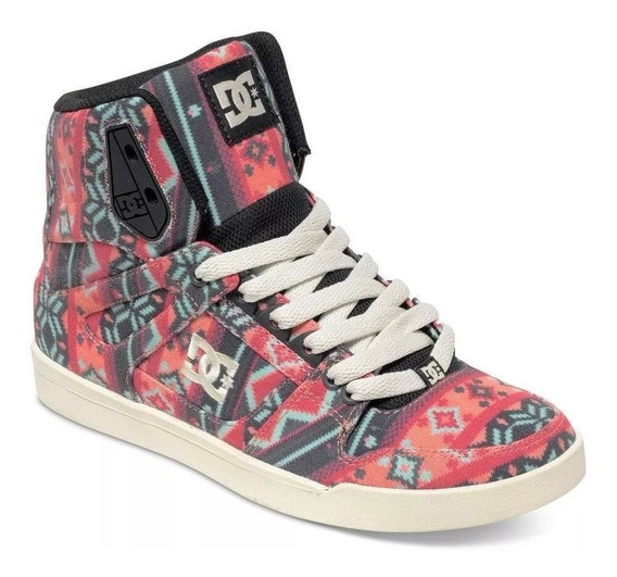 Zapatillas Dc Rebound Slim High Sp. Dama. Envios Gratis!!!