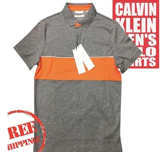 Playera Polo Para Caballero Calvin Klein Original Talla S Nueva 1,499$
