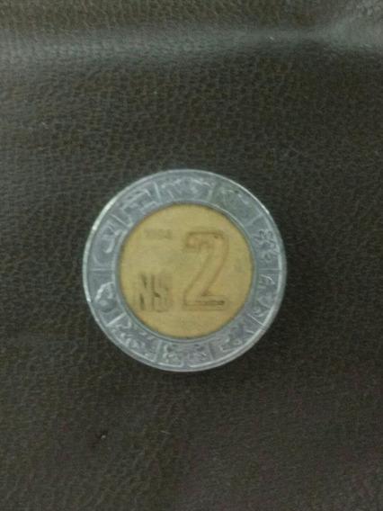 Moneda De Colección 2 Nuevos Pesos