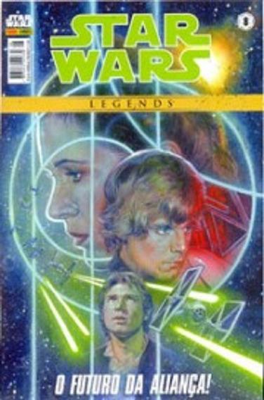 Hq´s Star Wars Legends - Volumes 8 E 10 - Panini Cada