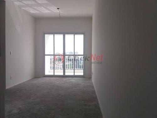Imagem 1 de 24 de Apartamento Novo À Venda Com 2 Dormitórios E 2 Vagas No Bairro Demarchi Em São Bernardo - 2444