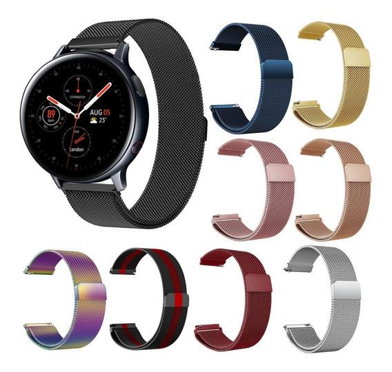 Correa Extensible Malla Galaxy Watch Active 1 Y 2 40mm 44mm