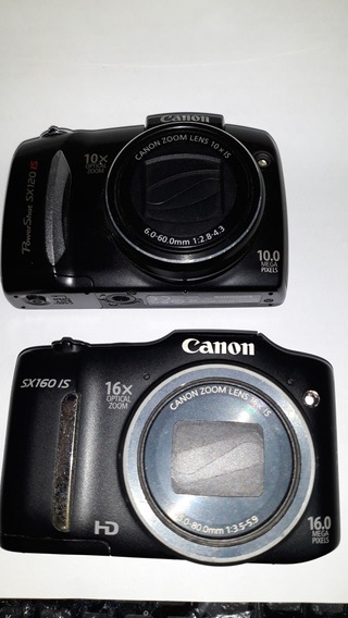 Canon Sx160is E Sx120is Não Liga Venda No Estado