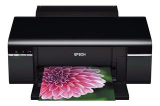 Impresora a color Epson Stylus Photo T50 220V - 240V negra