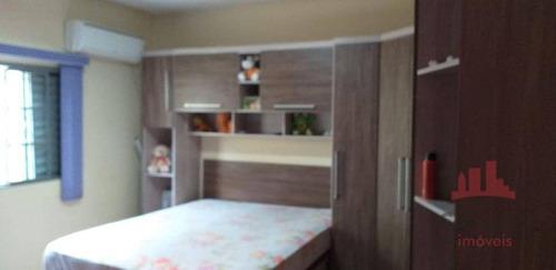 Imagem 1 de 12 de Casa Com 2 Dormitórios À Venda, 126 M² Por R$ 300.000,00 - Parque Olaria - Santa Bárbara D'oeste/sp - Ca2600