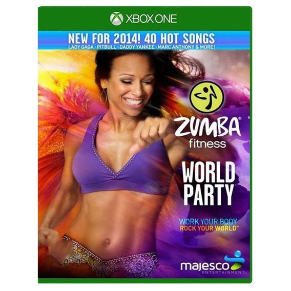 Zumba Fitness World Party Xbox One Mídia Física