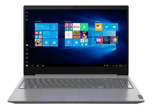 "Imagen 1 de 5 de Laptop Lenovo V-Series V15-IGL  iron gray 15.6"", Intel Celeron N4020  4GB de RAM 500GB HDD, Intel UHD Graphics 600 1366x768px Windows 10 Home"