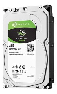 Disco Rigido Pc Hd 3tb Seagate Barracuda Interno 3 Tb