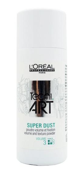 Loreal Tecni Art Super Dust Polvo Mate Volumen Y Fijación