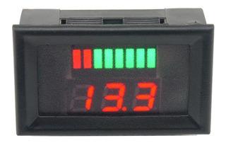 72v Dc Digital Batería Capacidad Led Indicador Voltimetro