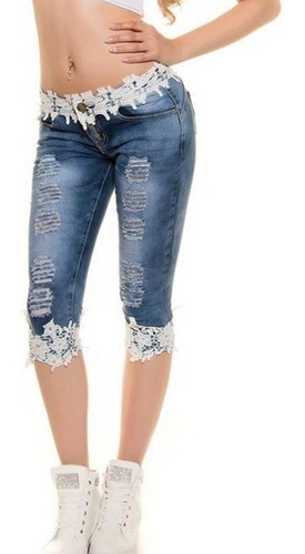 Modernos Pantalones De Mezclilla Para Dama Talla L Mercado Libre
