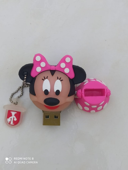 Pen Drive Divertidos Personagens Minnie 4 Gb