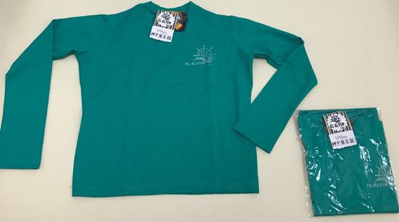 Kit 100 Camisetas Infantil Proteção Solar Uv 50 Unissex Slim