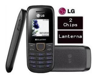 Celular Lg B220 Simples Lanterna Radio Fm Novo Idoso