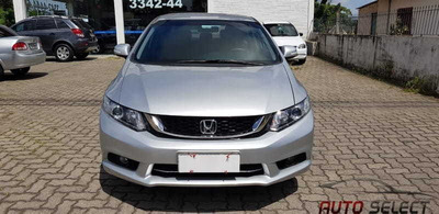 Honda Civic Lxr 2.0 C/ Multimídia E Paca I