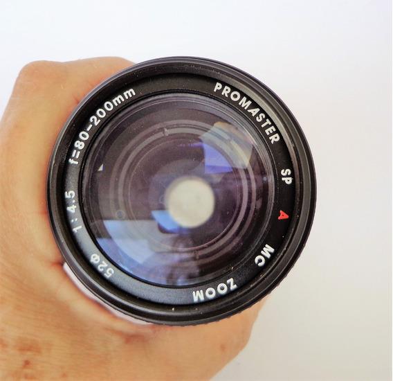 Lente Promaster Sp A Mc Zoom 1:4.5/f=80-200 Mm