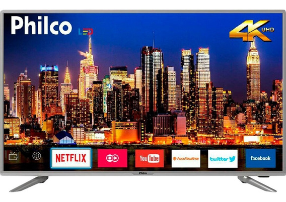 Smart Tv Led 40 Philco Ptv40g50sns Ultra Hd 4k Com Converso