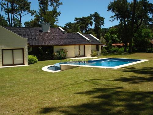 Alquiler Casa De 4 Dormitorio Y Piscina En San Rafael, Punta Del Este, Uruguay- Ref: 59788