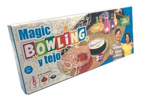 Juego De Bowling Y Tejo Luminoso