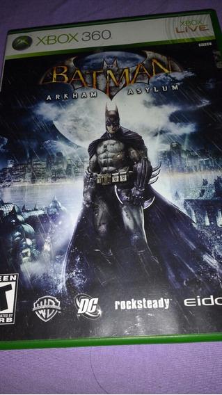 Jogo Original Batman Arkham Asylum - Xbox 360 - Mídia Física