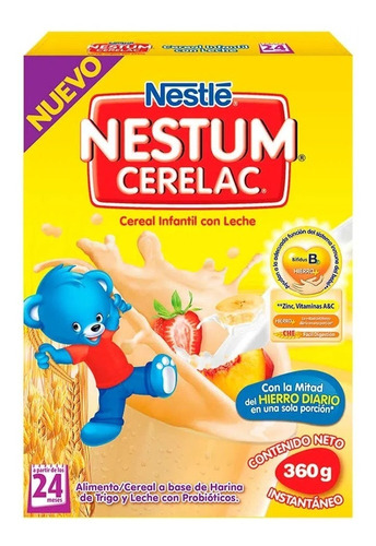 Imagen 1 de 5 de Cereal Infantil Nestum Cerelac - kg a $12142