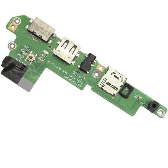 Placa Auxiliar Usb / Hdmi Ultrabook Lg Eax65035301 (12217)