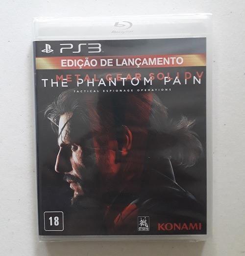 Jogo Metal Gear Solid V Ps3 The Phantom Pain Português Cd