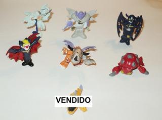 * Figura Personajes De Evoluciones De Digimon Precio X C/u