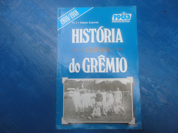 Revista Antiga Album Do Gremio Porto Alegre N.2