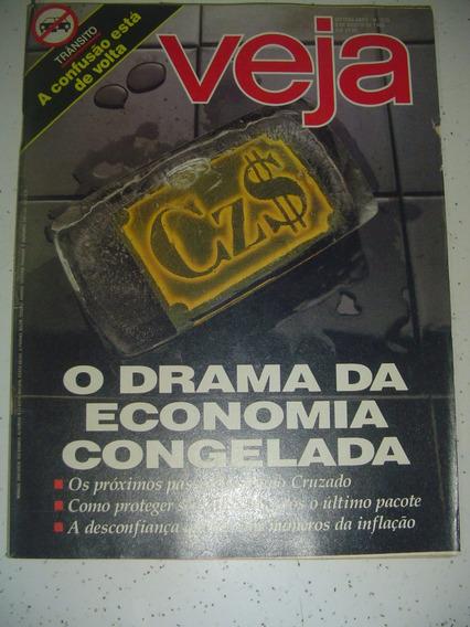 Revista Veja 935 Paulo Ricardo Elba Waldemar Londrina 1986