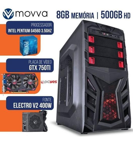Computador Gamer Mvxp Intel Pentium G4560 3.5ghz 7ª Ger Mem