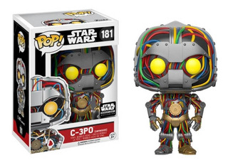 Funko Pop! C-3po Unfinished #181 Smugglers Bounty Exclusive