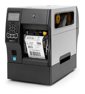 Impresora Etiquetas Zebra Zt410 Industrial Ethernet Rebobina