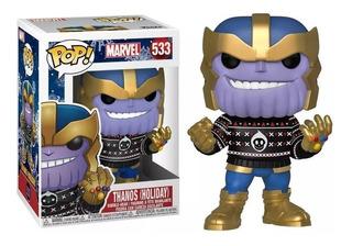 Figura Funko Pop Marvel Holiday - Thanos 533 Mejor Precio