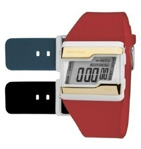 Relógio Kit Mormaii Unissex Aquarela Fzv/t8p Digital Origina