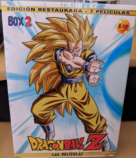 Dragon Ball Z Movies Box 2