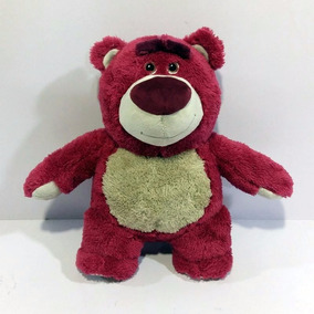 Pelúcia Urso Rosa Lotso Toy Story 30 Cm