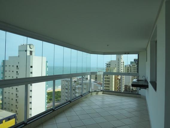 Murano Imobiliária Aluga Apartamento De 4 Quartos Com Vista Eterna Para O Mar Na Praia Da Costa, Vila Velha - Es. - 1583