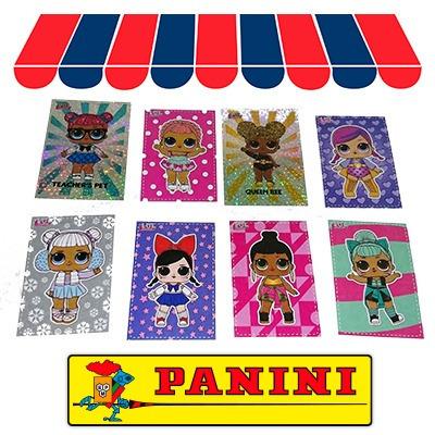 Panini-L.o.l surprise! sticker nº 169 169a+174b