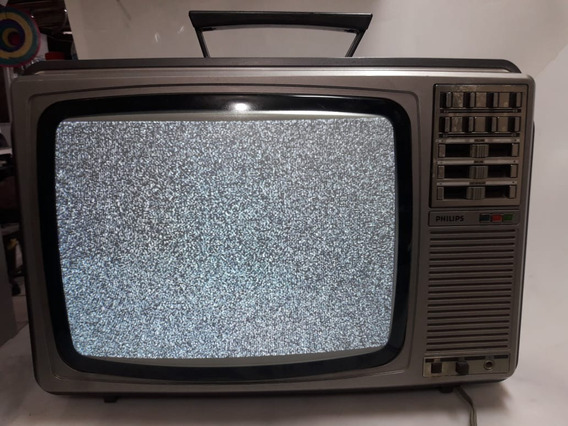 Tv Philips Vintage Raridade 14 Polegadas Dl 390