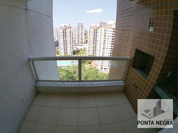 Apartamento Com 3 Dormitórios À Venda, 96 M² No Mundi Resort- Aleixo - Manaus/am - Ap0607